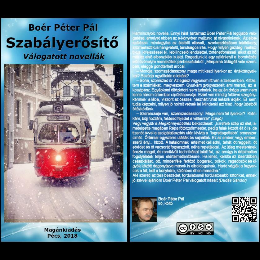 Boér Péter Pál: Szabályerősítő (Válogatott novellák) (Hangoskönyv)