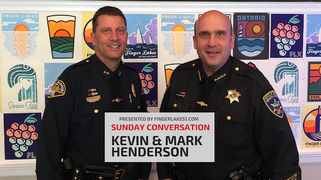 SUNDAY CONVERSATION: Henderson brothers talk leading Brighton PD, Ontario Co. Sheriff's Office