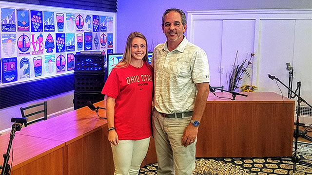 FL1 SPORTS PODCAST: Marion soccer standout Chloe DeLyser in-studio (LIVE at 2:00 PM)