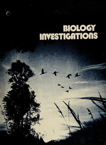 Cover of: Biology investigations | James Howard Otto