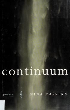 Cover of: Continuum | Nina Cassian
