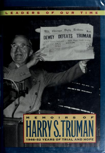 Memoirs by Harry S. Truman by Harry S. Truman