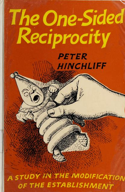 The one-sided reciprocity by Peter Bingham Hinchliff