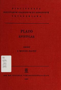 Cover of: Platonis Epistulae   Plato