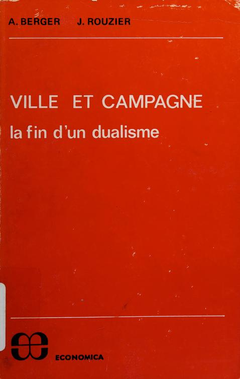 Ville et campagne by Alain Berger